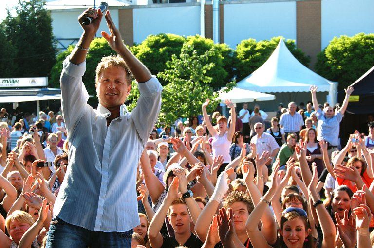 Stars und Publikum feiern bei uns GEMEINSAM