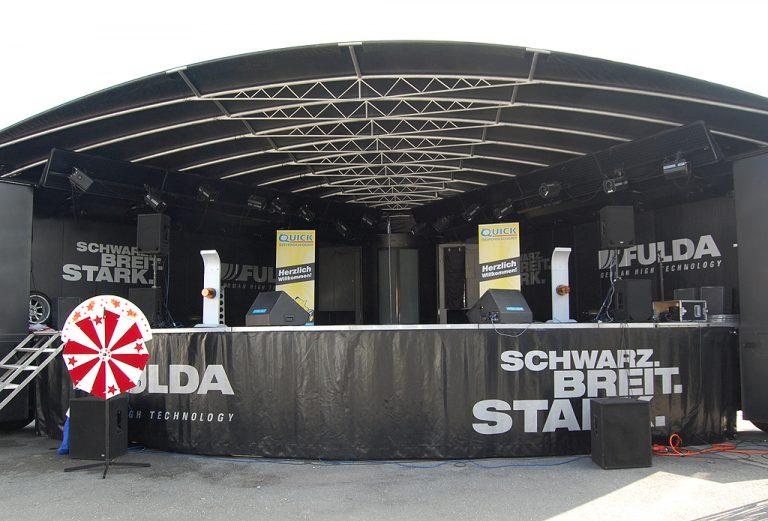 LKW-Bühne