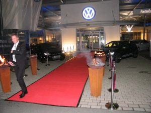 Dekoration für VW