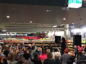 Live-Entertainment im Shopping Center